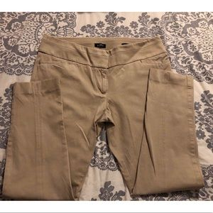 LOFT Marisa Skinny Ankle Pants - Khaki Size 8